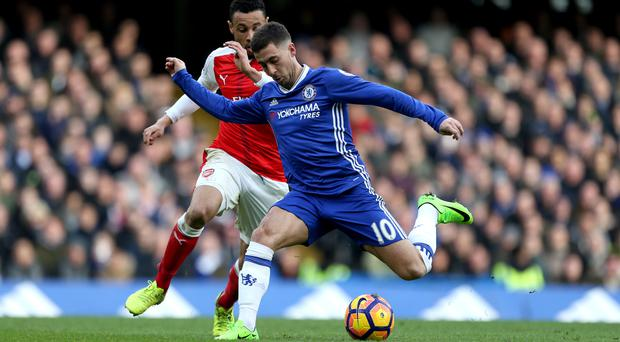 Eden Hazard feels dominant home form will prove the backbone of Chelsea's title challenge