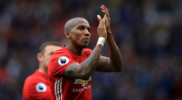 Manchester United's Ashley Young has forced his way back into Jose Mourinho's plans