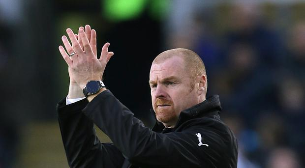 Sean Dyche has no fears over Burnley's run of away fixtures