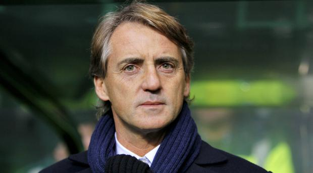 Former Manchester City manager Roberto Mancini had a brief loan spell at Leicester in 2001