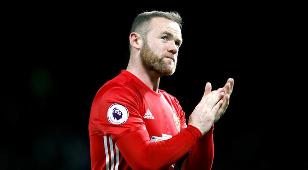 Wayne Rooney has announced he is staying at Manchester United