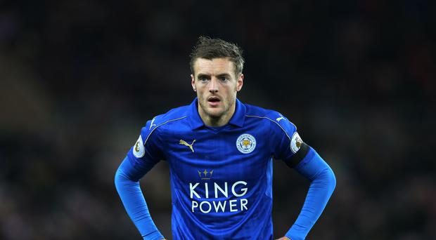 Leicester's Jamie Vardy has been unable to recreate his form of last year