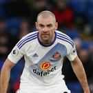 Darron Gibson returns to former club Everton with Sunderland this weekend