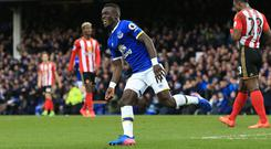 Idrissa Gueye's first Premier League goal was worth waiting for