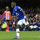 Idrissa Gana Gueye scored first Premier League goal in Everton's 2-0 win over Sunderland.