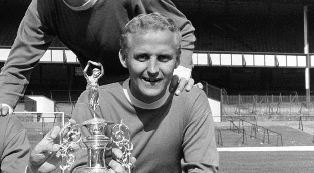 Everton great Alex Young has died,