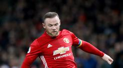 Manchester United striker Wayne Rooney is a target of former club Everton
