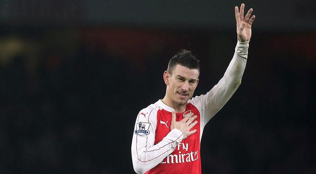 Arsenal's Laurent Koscielny Picture: PA