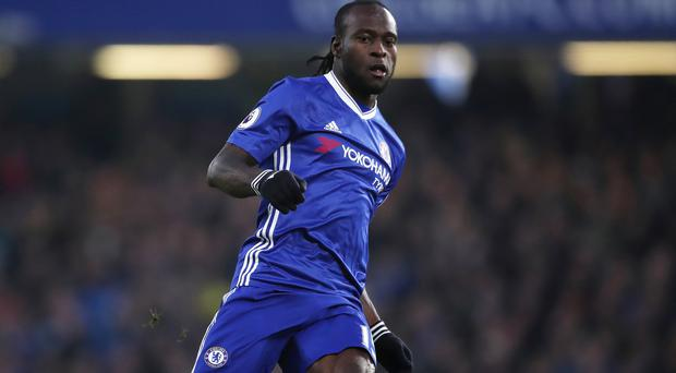 Wing-back Victor Moses Picture: PA