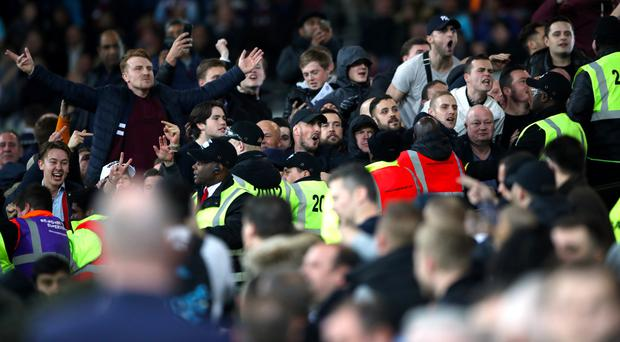 West Ham's last meeting with Chelsea was marred by crowd trouble