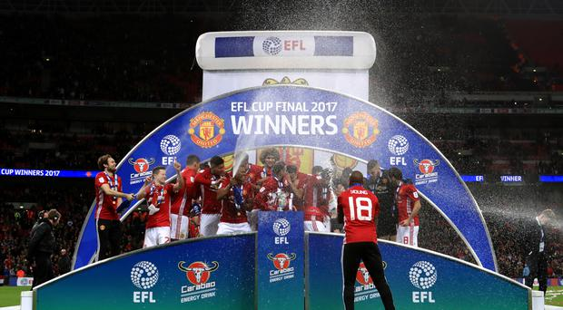 Jose Mourinho's Manchester United are looking to build on their EFL Cup success