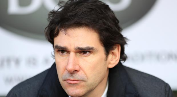 Middlesbrough head coach Aitor Karanka is preparing himself for 12