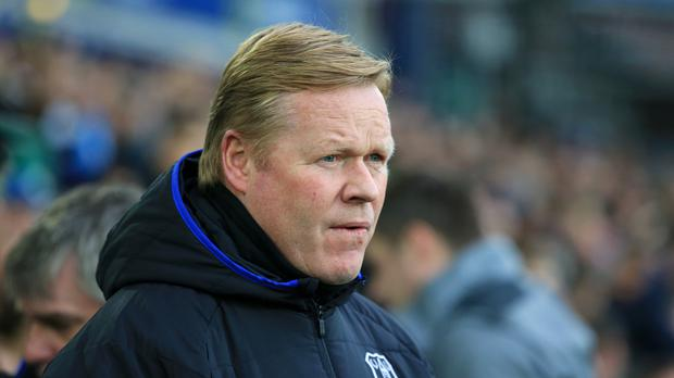 Ronald Koeman was not prepared to discuss speculation linking him with Barcelona