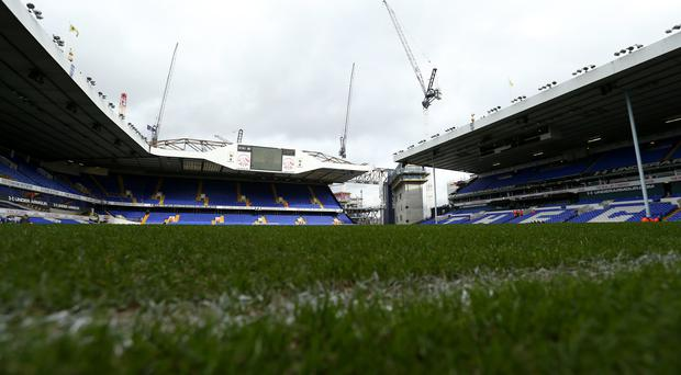 Development work is ongoing around White Hart Lane