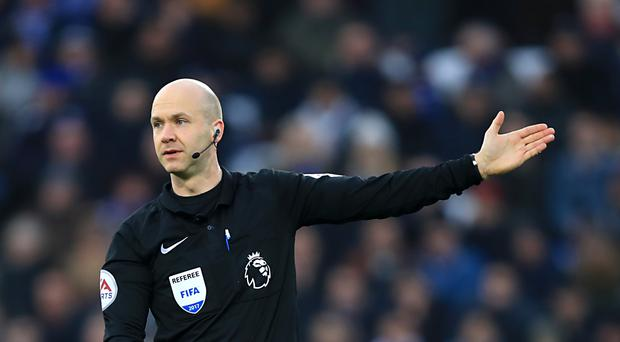 Referee Anthony Taylor was in the spotlight after his controversial spot-kick award in Swansea's 3-2 victory over Burnley.