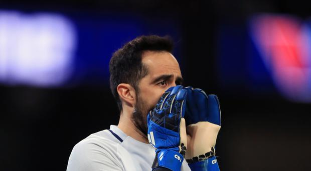 Manchester City goalkeeper Claudio Bravo retains the backing of manager Pep Guardiola
