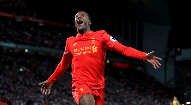 Liverpool midfielder Georginio Wijnaldum insists pressure is not a problem for the players