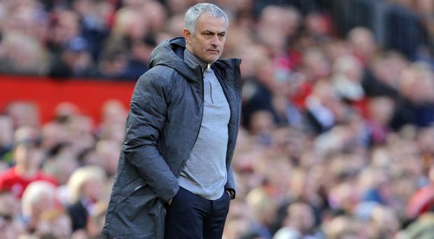Jose Mourinho's Manchester United are pursuing a treble