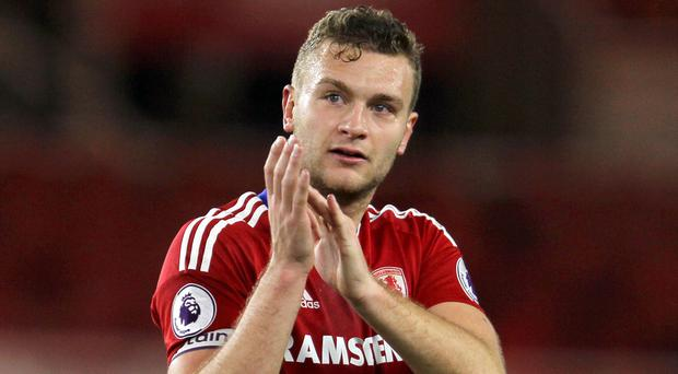Middlesbrough defender Ben Gibson is a reported target of Manchester City and Chelsea