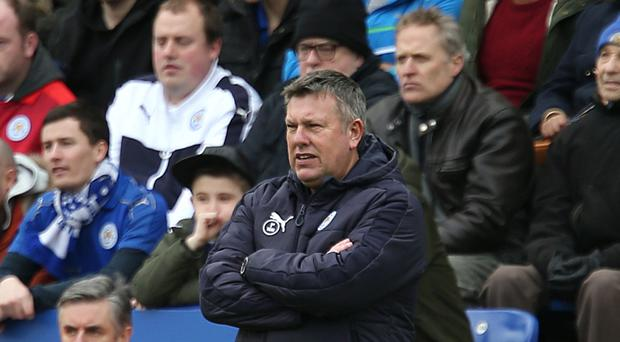 Leicester caretaker manager Craig Shakespeare replaced the sacked Claudio Ranieri last month