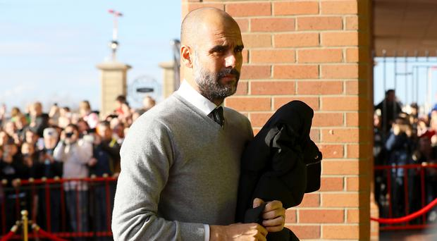Manchester City manager Pep Guardiola is concerned about the cost of English players