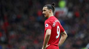 Manchester United's Zlatan Ibrahimovic is a reported target for LA Galaxy