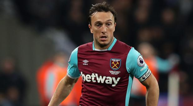 Mark Noble was criticised for his performance against Chelsea