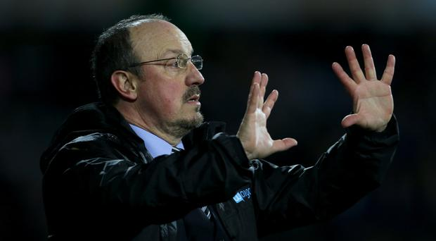 Newcastle manager Rafael Benitez has likened the club to Liverpool