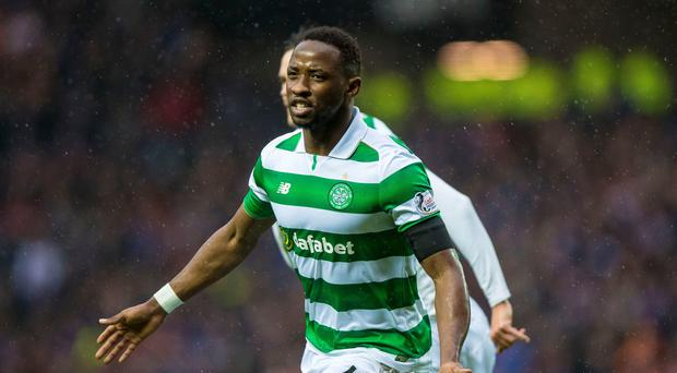 Celtic's Moussa Dembele. Photo: PA