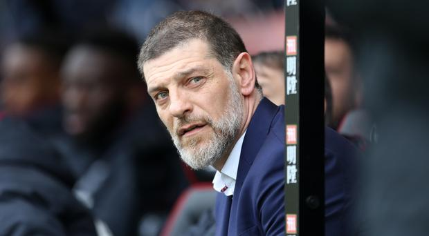 Slaven Bilic has received some public advice from his boss