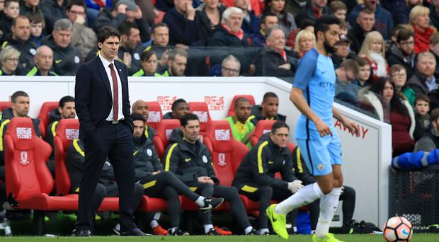 Middlesbrough head coach Aitor Karanka (left) has vowed to fight until the end