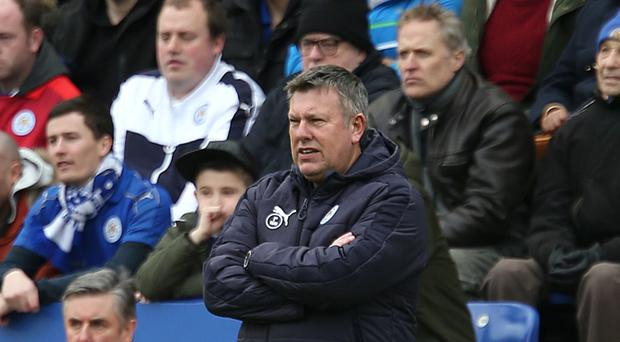 Leicester have named Craig Shakespeare as manager until the end of the campaign