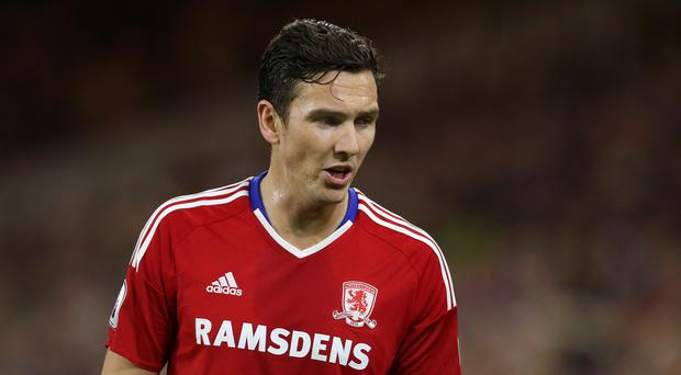 Stewart Downing, pictured, is determined to force his way back into Aitor Karanka's Middlesbrough team