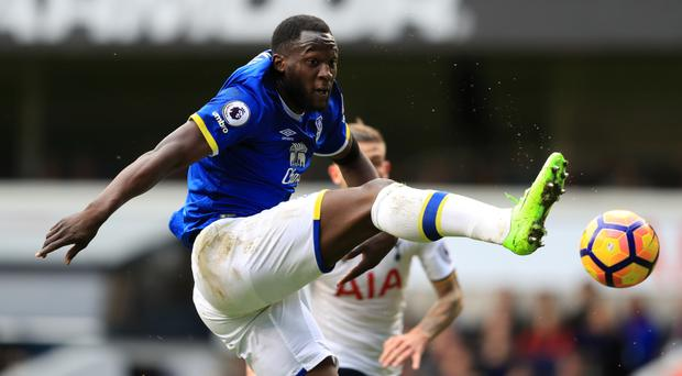 Romelu Lukaku has scored 19 goals in the Premier League for Everton this season
