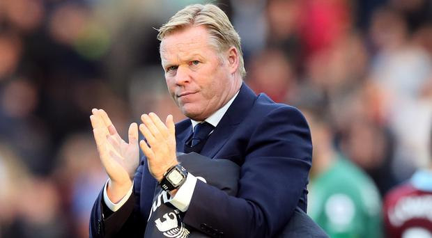 Everton's players are happy at home again, according to manager Ronald Koeman