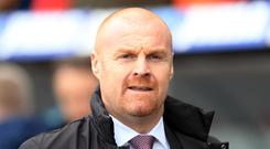 Sean Dyche's Burnley have only picked up two points away from home this season