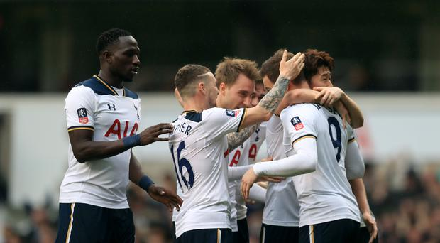 Vincent Janssen scored his first Tottenham goal from open play against Millwall last weekend.