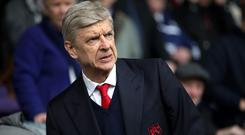Under-fire Arsenal manager Arsene Wenger saw his side lose again