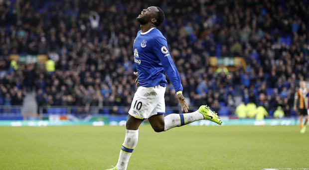 Ronald Koeman reserved praise for Romelu Lukaku, pictured