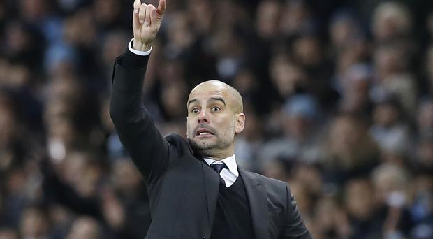 Pep Guardiola is determined to bounce back from Manchester City's Champions League exit