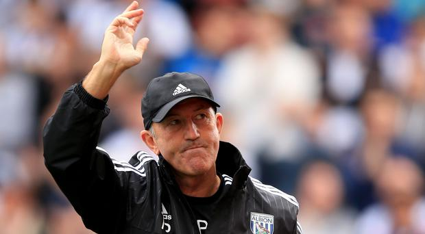West Brom manager Tony Pulis is proud of his players
