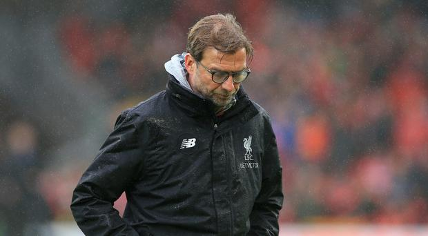 Liverpool manager Jurgen Klopp, pictured, has paid tribute to former captain and coach Ronnie Moran