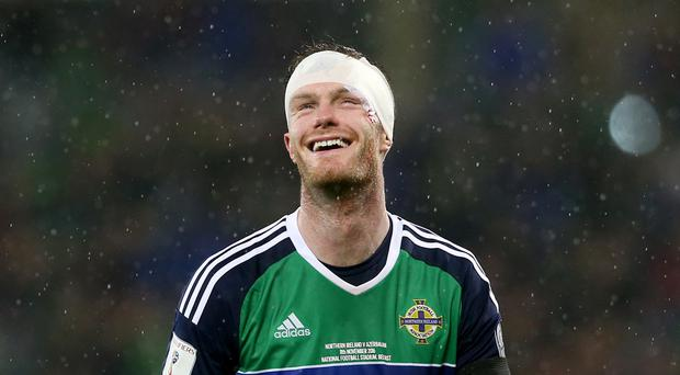 Chris Brunt happy with progress on return from injury