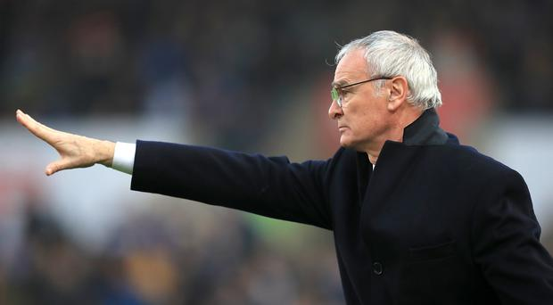 Claudio Ranieri was shown the door by Leicester in February