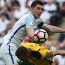 Burnley boss Sean Dyche says England honours can only be a good thing for Michael Keane, pictured, and the club