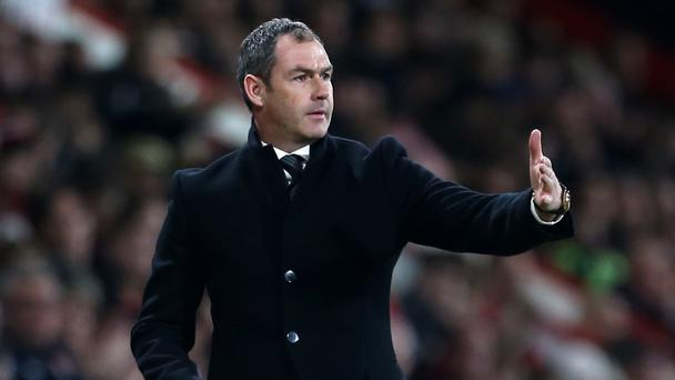 Swansea's Clement believes relegation fight could go to last game