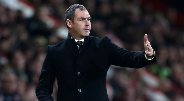Paul Clement's Swansea are three points above the relegation zone