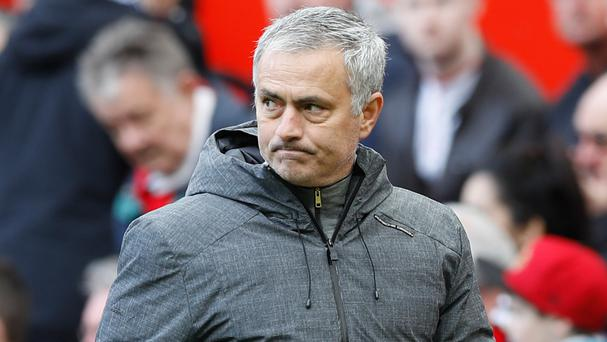 Manchester United manager Jose Mourinho was not a happy man after his side's 0-0 draw against West Bromwich Albion