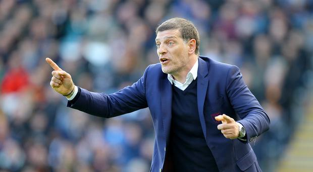 Slaven Bilic insists he pays no attention to the speculation