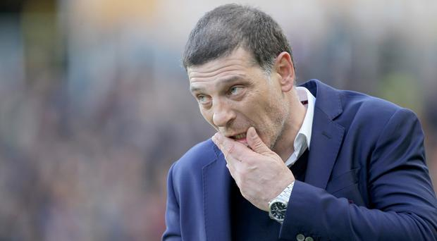 West Ham United manager Slaven Bilic has been supported by his board
